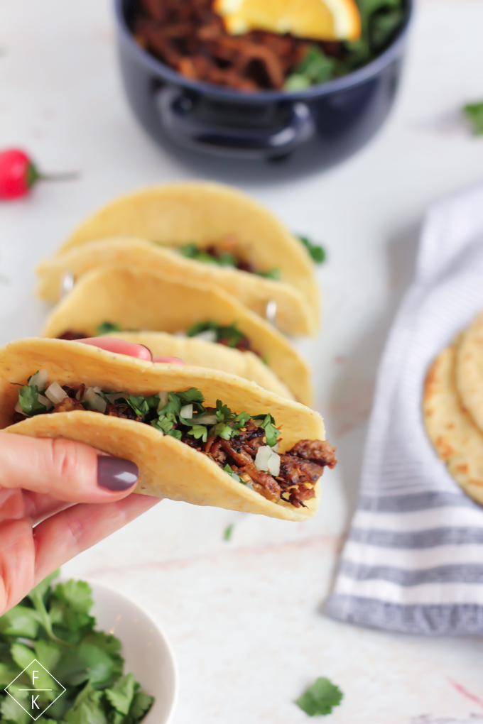 Keto Corn Tortillas And Keto Carnitas Tacos
