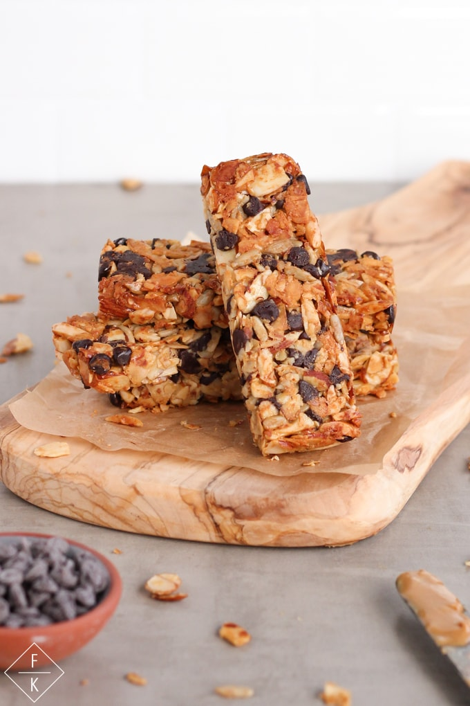 Keto Peanut Butter Granola Bars No Oats