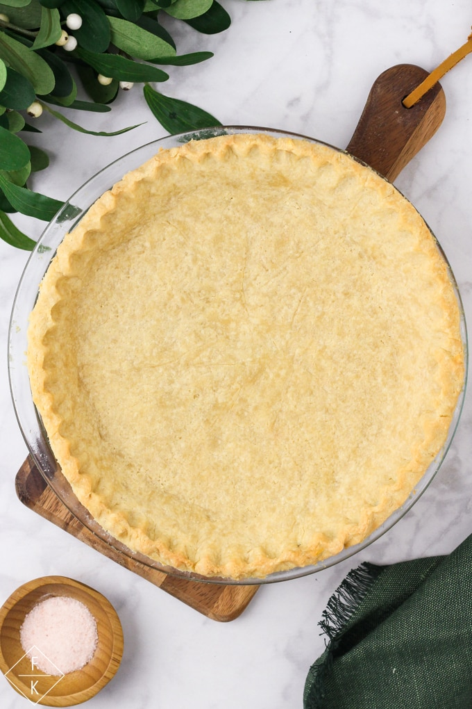 Low Carb Pie Crust Dough