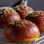 Low Carb Brioche Bun With Yeast