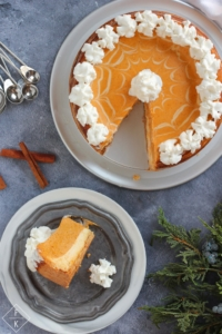 Keto Layered Pumpkin Cheesecake