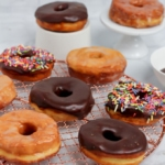 Low Carb yeasted donuts
